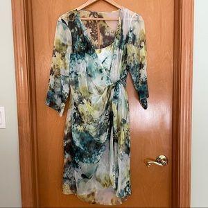 Kay Unger Wrap Dress